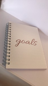 goals note book